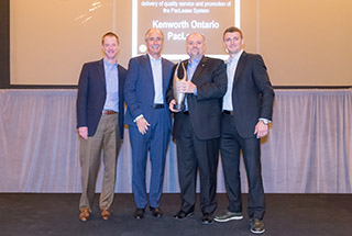 Kenworth Ontario PacLease and Allstate Leasing Named PacLease's North American Franchises of the Year