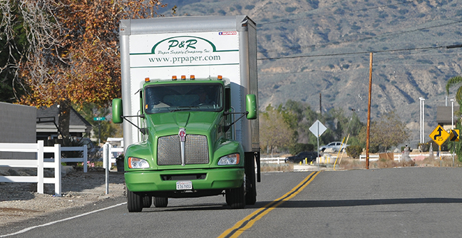 Kenworth Trucks and PacLease Service Make a Difference for  P&R Paper Supply Company